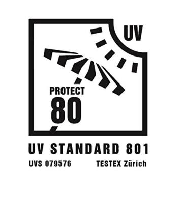 Explorer Strandmuschel 270 x 120 x 120 cm UV60 -