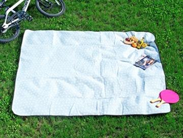 Wilson Gabor Wasserabweisende Fleece-Picknick-Decke, 175 x 200 cm -