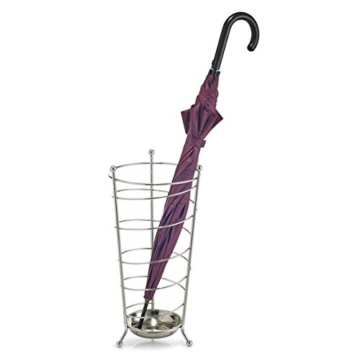 Zeller 13020 Schirmständer, metall verchromt -
