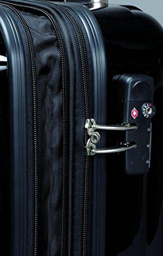 JSA Koffer 45505 – Reisetrolley 55 Cm, aus Strapazierfähigem Abs Material, Altweiß Matt 58 cm 50 liters 10100202 -