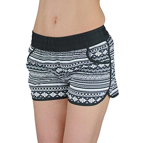 badeshorts damen boardshorts strandshorts beach shorts. Black Bedroom Furniture Sets. Home Design Ideas
