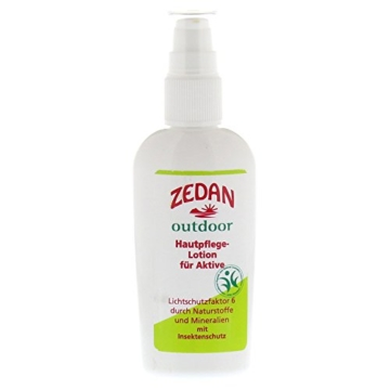 Zedan MM-Cosmetic: outdoor Hautpflege-Lotion LSF 6 (100 ml) -