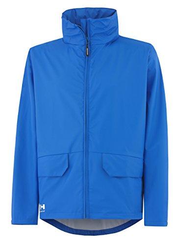 Helly Hansen Workwear Regenjacke wasserdicht Voss Jacket, Blau, 70214, L -