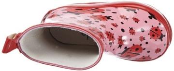 Playshoes Mädchen Marienkäfer Nieder Gummistiefel, Pink (Original 900), 27 EU -