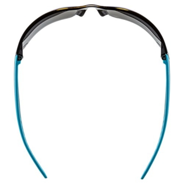 Uvex Unisex Sportbrille Sportstyle 204, blue/lens mirror blue, One Size, 5305254416, -