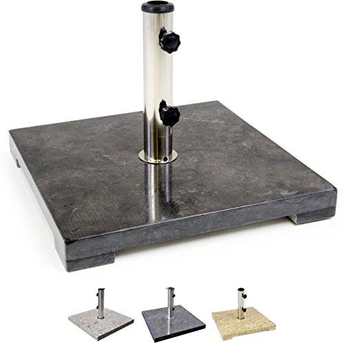 nexos schirmst nder sonnenschirmst nder marmor poliert. Black Bedroom Furniture Sets. Home Design Ideas