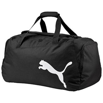 Puma Unisex Sporttasche Pro Training One Size (L 61 x W 31 x H 29 cm) 47 liter, Mehrfarbig (Black/White), 072938 01 -