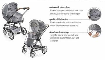 Reer PEVA Regenschutz für Kinderwagen -