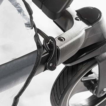 Reer PEVA Regenschutz für Zwillingswagen -