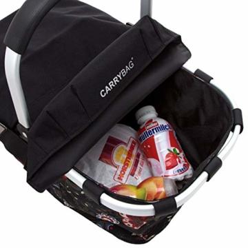 Reisenthel BP7003 Carrybag cover schwarz -