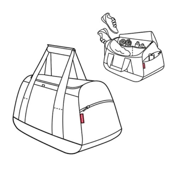 Reisenthel MX7003 activitybag, 54 x 33 x 30 cm, schwarz -