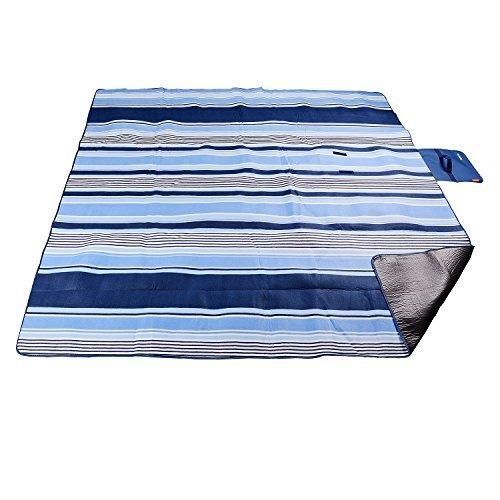 200 x 200 cm xxl picknickdecke fleece wasserdicht mit tragegriff f r picknick camping g nstig. Black Bedroom Furniture Sets. Home Design Ideas