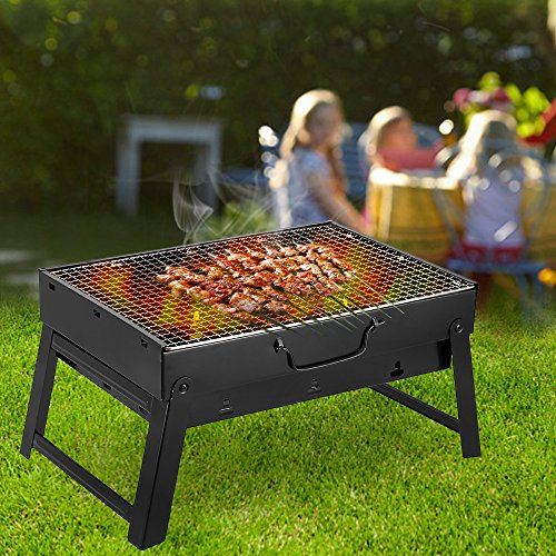 bbq grill mini grill camping grill f r garten camping party bbq ca 43 l 29 w 23 h cm. Black Bedroom Furniture Sets. Home Design Ideas