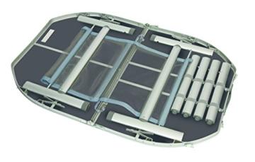 Aluminium Klapptisch 120x80 Campingtisch Falttisch Koffertisch(B-Ware)Hitzebeständig -Wasserfest - 2