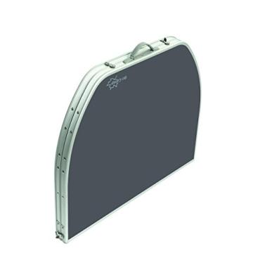 Aluminium Klapptisch 120x80 Campingtisch Falttisch Koffertisch(B-Ware)Hitzebeständig -Wasserfest - 3
