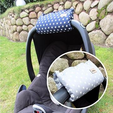 Armpolster Griffschoner Griffpolster für Babyschale Maxi-Cosi ❤ SmukkeDesign NEU - 2