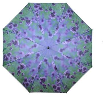 AS4HOME Regenschirm - Stockschirm - Lavendel lila Großer Golfschirm - 1