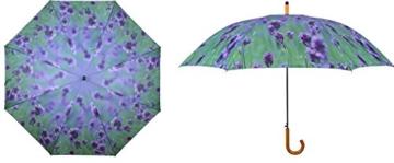 AS4HOME Regenschirm - Stockschirm - Lavendel lila Großer Golfschirm - 2