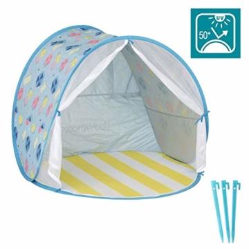 Babymoov A038209 Baby-Strandmuschel Parasol LSF 50+, mehrfarbig - 1