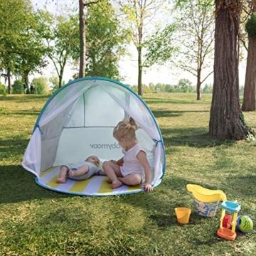 Babymoov A038209 Baby-Strandmuschel Parasol LSF 50+, mehrfarbig - 2