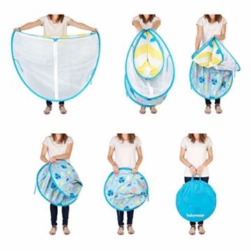 Babymoov A038209 Baby-Strandmuschel Parasol LSF 50+, mehrfarbig - 6
