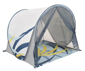 Babymoov Anti-UV Schutzzelt Tropical - UV-Schutz 50+, Pop-Up Zelt, Strandmuschel, inkl. Moskitonetz, 98 x 90 x 85 cm - 2