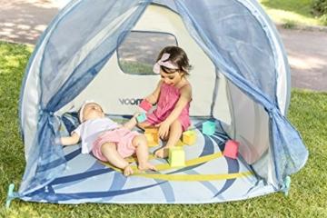 Babymoov Anti-UV Schutzzelt Tropical - UV-Schutz 50+, Pop-Up Zelt, Strandmuschel, inkl. Moskitonetz, 98 x 90 x 85 cm - 4