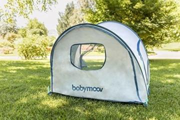Babymoov Anti-UV Schutzzelt Tropical - UV-Schutz 50+, Pop-Up Zelt, Strandmuschel, inkl. Moskitonetz, 98 x 90 x 85 cm - 5