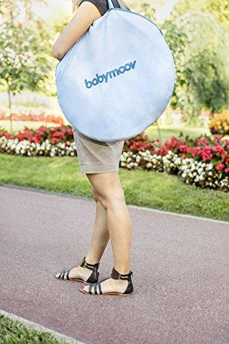 Babymoov Anti-UV Schutzzelt Tropical - UV-Schutz 50+, Pop-Up Zelt, Strandmuschel, inkl. Moskitonetz, 98 x 90 x 85 cm - 6