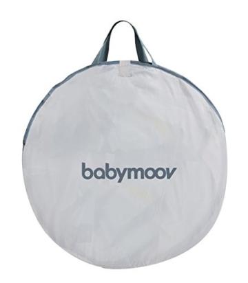 Babymoov Anti-UV Schutzzelt Tropical - UV-Schutz 50+, Pop-Up Zelt, Strandmuschel, inkl. Moskitonetz, 98 x 90 x 85 cm - 7