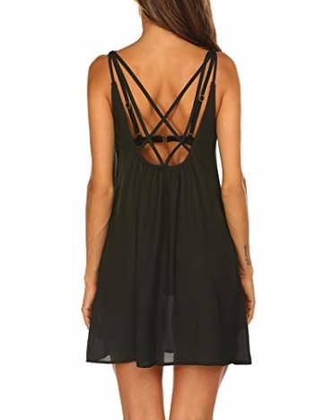 Balancora Bikini Cover up Strandkleid Damen Strandponcho Pareos Chiffon Loose Fit Sexy Kleid Transparent Strand Sommer Tunika Lang - 5