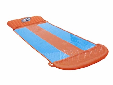 Bestway H2oGo 3er-Wasserrutsche, mit aufblasbarer Startrampe, Triple Ramp, 549 cm - 1