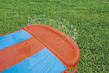 Bestway H2oGo 3er-Wasserrutsche, mit aufblasbarer Startrampe, Triple Ramp, 549 cm - 4