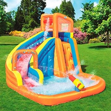Bestway H2OGO! Wasserpark Turbo Splash, Planschbecken mit Wasserrutsche und Kletterwand, 365x320x275 cm - 3