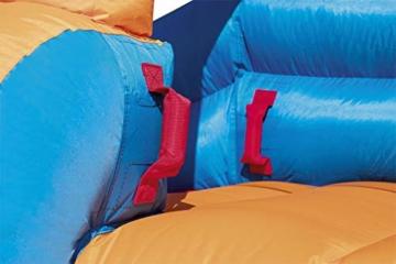 Bestway H2OGO! Wasserpark Turbo Splash, Planschbecken mit Wasserrutsche und Kletterwand, 365x320x275 cm - 7