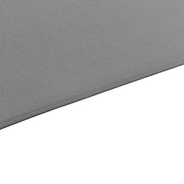 [casa.pro]® Sonnenschirm Schirm Marktschirm Kurbelschirm Garten Grau / 230x300cm / 5,7kg / Stahl/Polyester 160g/m² - 7
