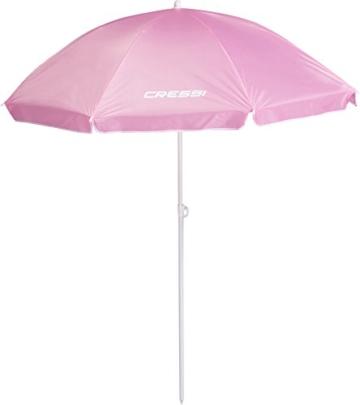 Cressi Umbrella Beach Sonnenschirm, Rosa, 160 cm - 1