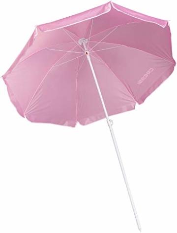 Cressi Umbrella Beach Sonnenschirm, Rosa, 160 cm - 3