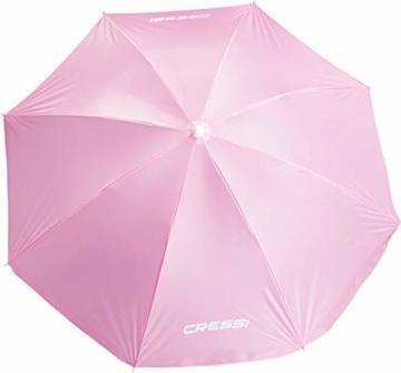 Cressi Umbrella Beach Sonnenschirm, Rosa, 160 cm - 4