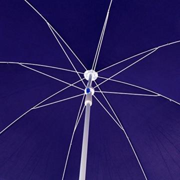 DEMA Strandschirm blau 180 / UV30 - 3