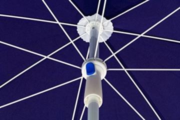 DEMA Strandschirm blau 180 / UV30 - 5