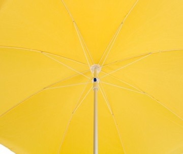 DEMA Strandschirm gelb 180 / UV30 - 3