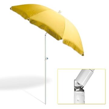 DEMA Strandschirm gelb 180 / UV30 - 7