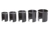 Doppler 6 cm Granitsockel-Reduzierringe Innendurchmesser 25, 32, 38, 48 und 52 mm, schwarz Adapter - 1