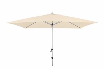 Doppler EXPERT Auto Tilt – Rechteckiger Sonnenschirm für Balkon oder Terrasse – Knickbar – ca. 300x200 cm – Natur - 4