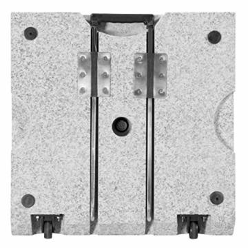 Doppler SL-AZ Granit Auszieh-Griff 72kg Sonnenschirmständer, grau - 4