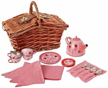 Egmont Toys Picknickkorb mit Marienkäfer-Teeset - 1