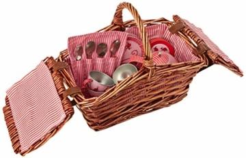 Egmont Toys Picknickkorb mit Marienkäfer-Teeset - 2