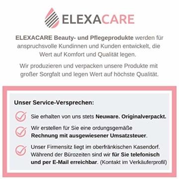 ELEXACARE Haarturban, Turban Handtuch mit Knopf (2 Stück anthrazit), Mikrofaser Handtuch für Kopf und Lange Haare - 8