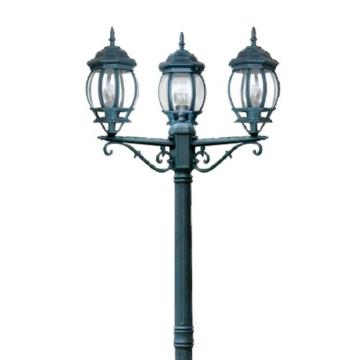 Fan Europe Standleuchte Außenbeleuchtung A Drei Lichter E27, 40W, grün, 209x 69 - 3